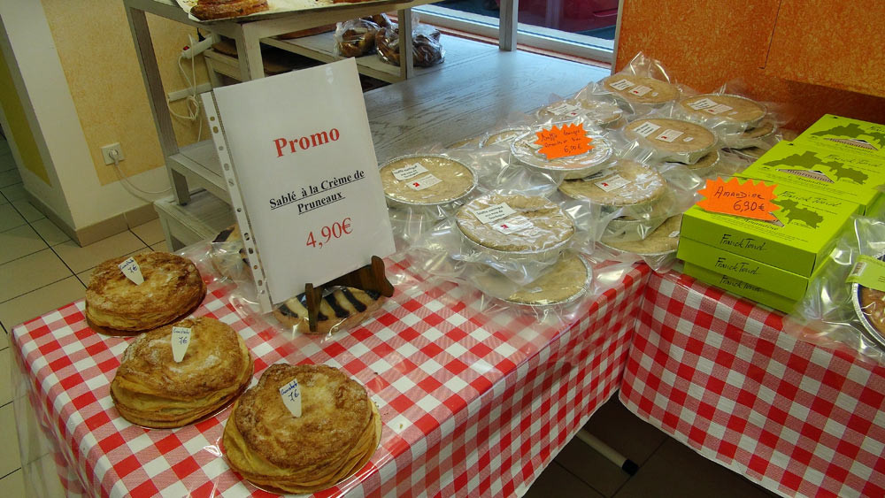 Croustade - Sablé à la crème de pruneaux (en promo !)