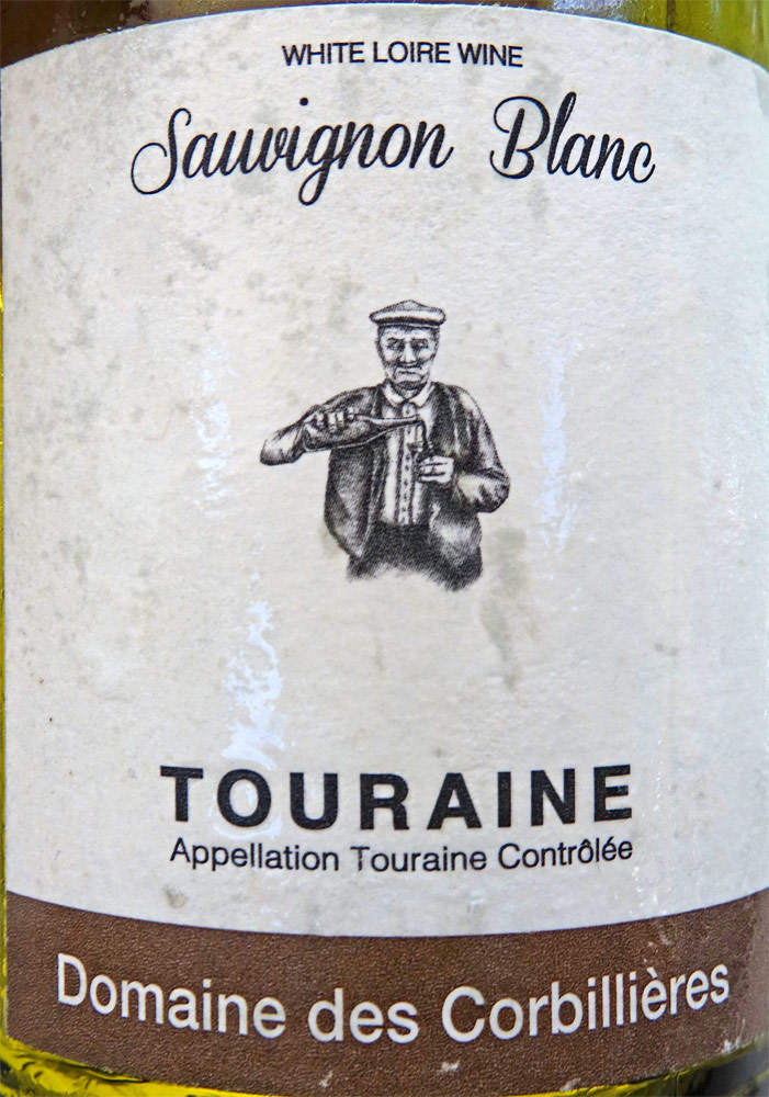 Le vin blanc pour les 2 premiers plats