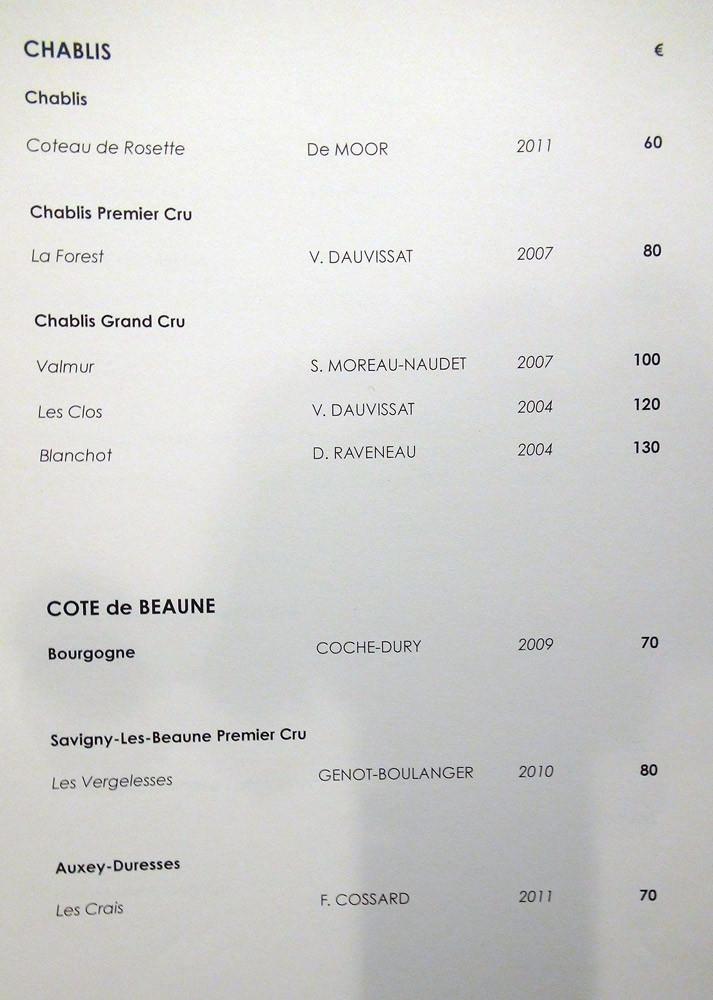 Chablis et Côte de Beaune