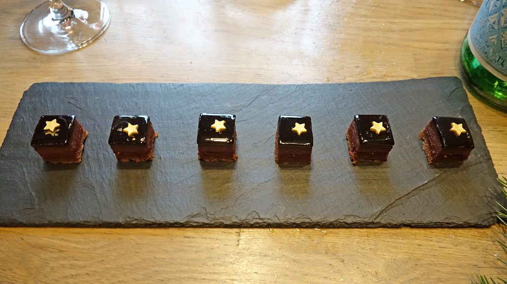 La mignardise au chocolat