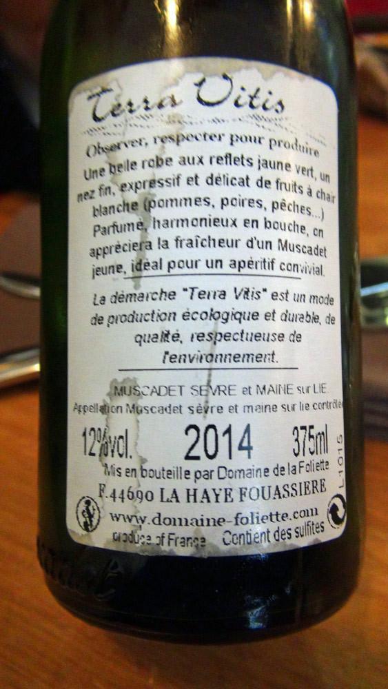 Le vin blanc pour les préparations marines