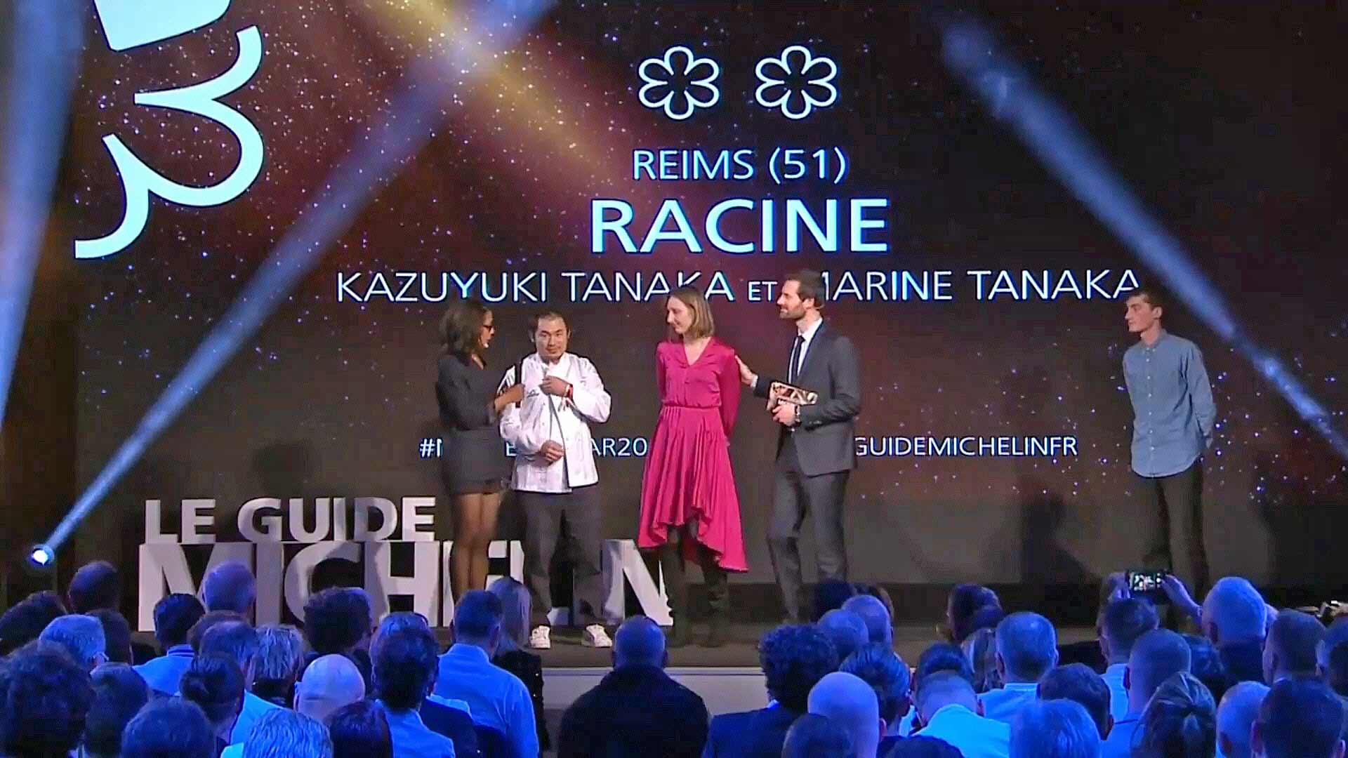 Racine à Reims, nouveau 2 étoiles
