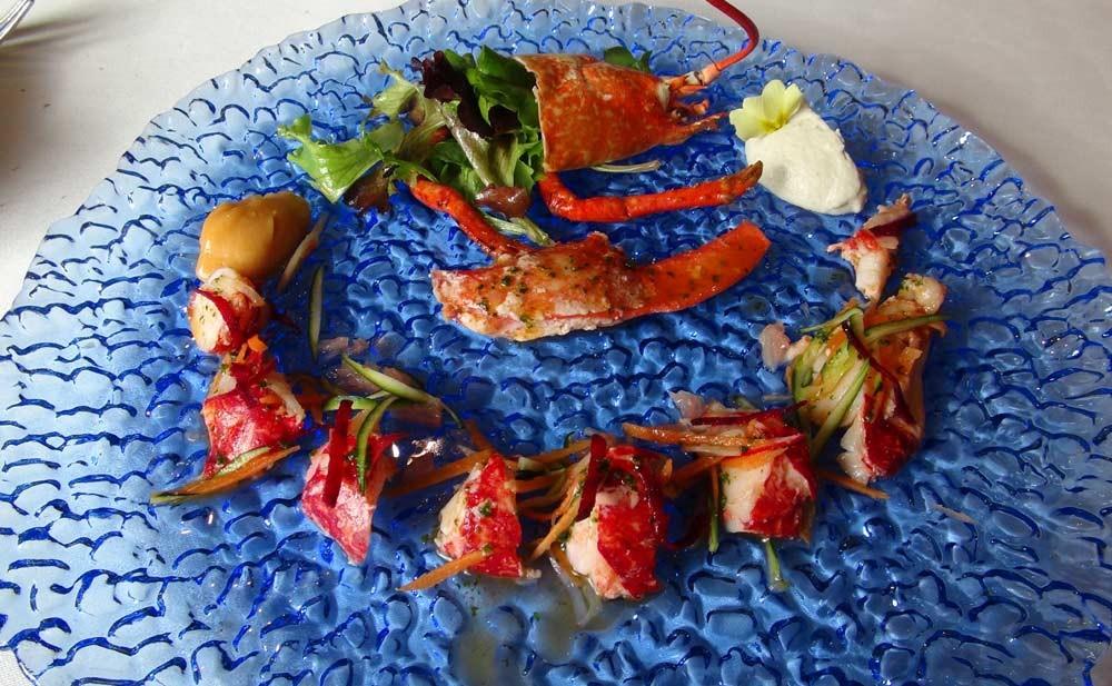 Salade de homard breton