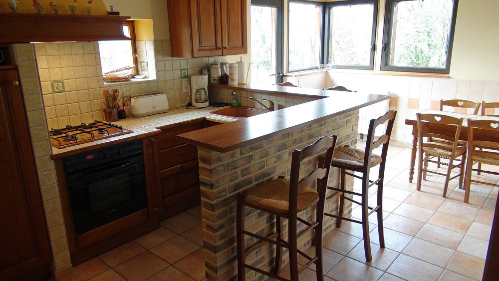 La cuisine/salle à manger