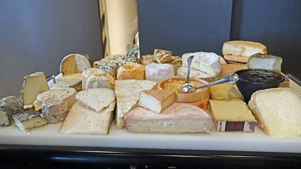Le chariot de fromages (non testé)