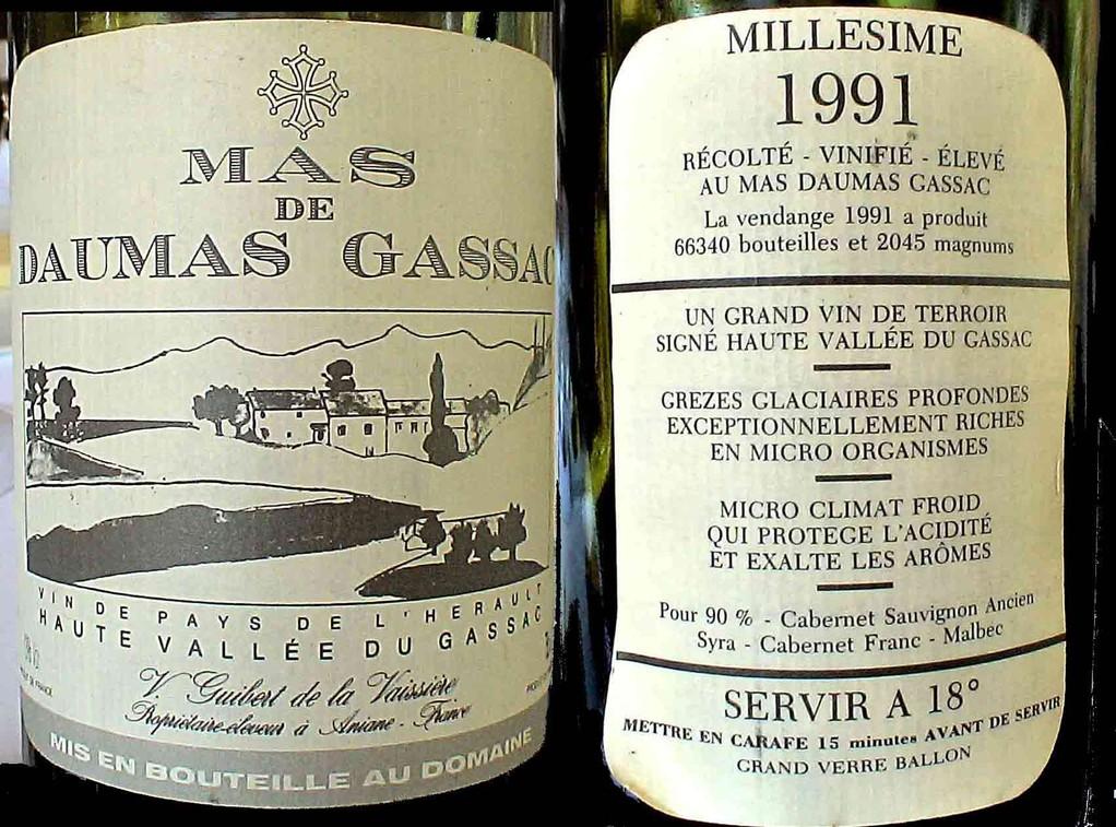 Mas Daumas Gassac 1997