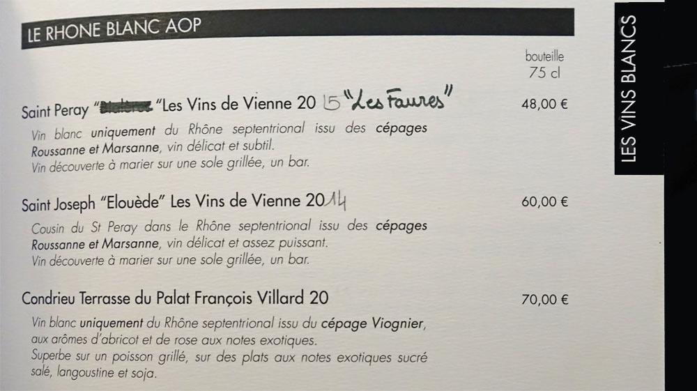 Vins blancs - Rhône