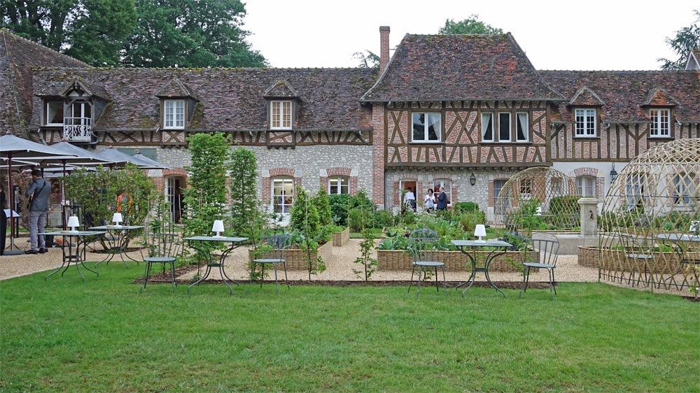 Le jardin du Bistrot et de l'Ecole de cuisine
