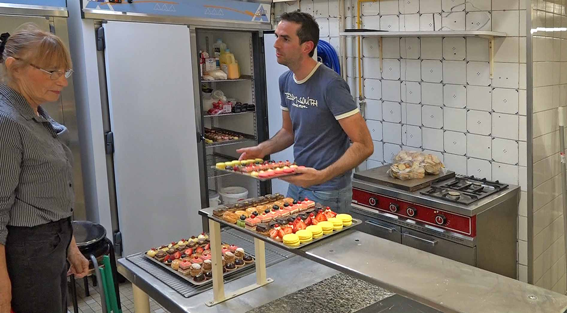 Loïc Boulard, le chef pâtissier du Petit Vatel