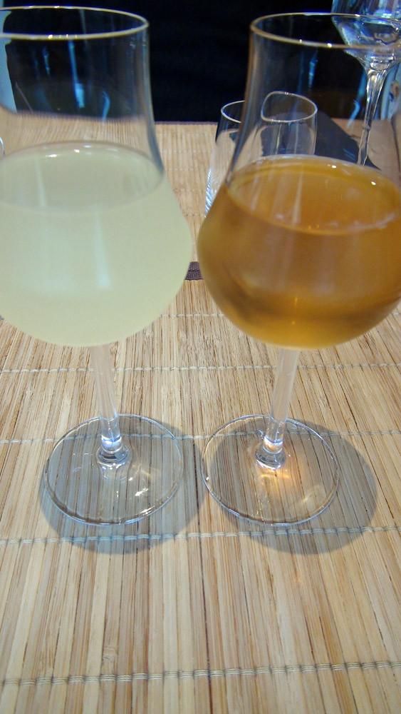 Liqueur de Yuzu (yamayuzu shibori) & liqueur de prune (choya umeshu)