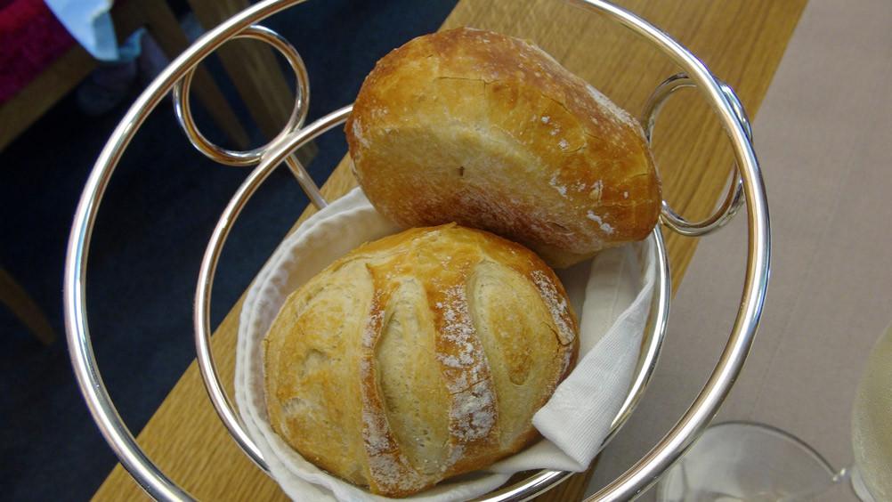 Petits pains maison de Vincent Boterel, le pâtissier talentueux de l'Anthocyane