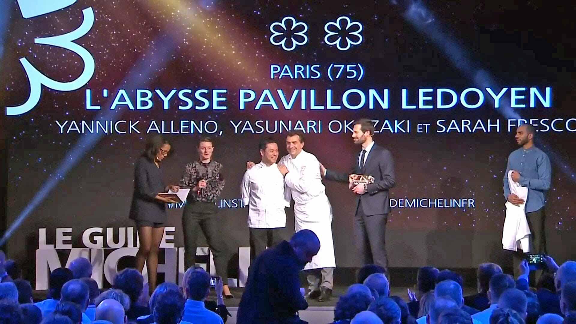 L'Abysse Pavillon Ledoyen, nouveau 2 étoiles de la constellation Yannick Alleno