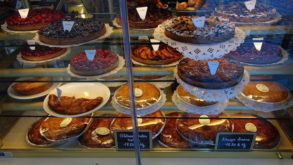 Kouign amann et autres gâteaux
