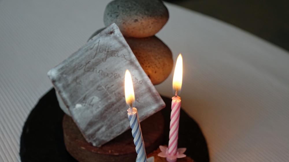 Attention chocolatière pour fêter nos 44 ans de mariage !