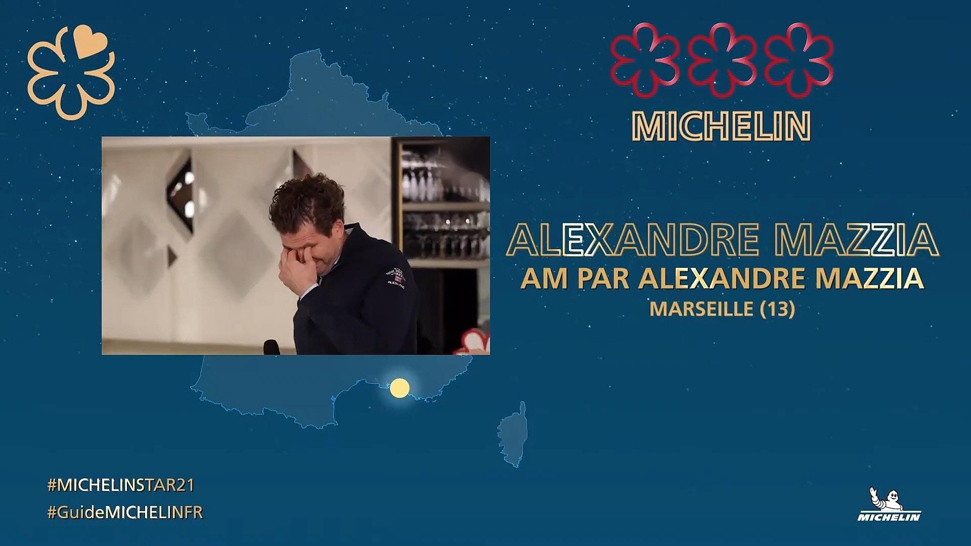 Alexandre Mazzia - Crédit photo Michelin