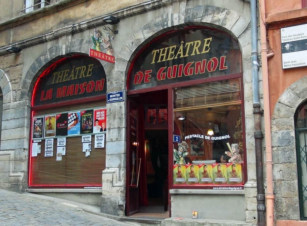 Visite des Traboules : le théâtre de Guignol