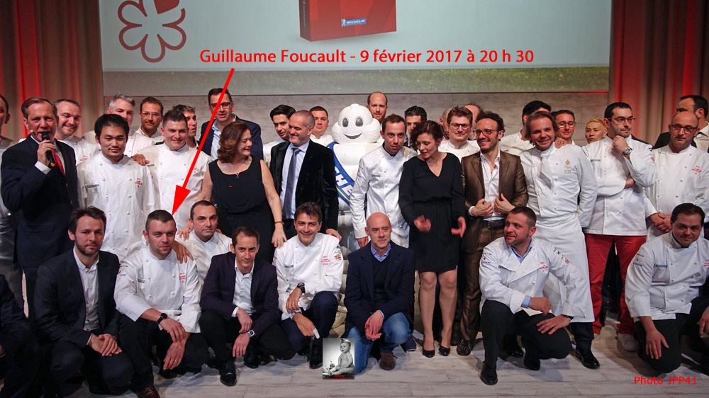 Cérémonie Michelin du 9 février 2017 - Photo personnelle !