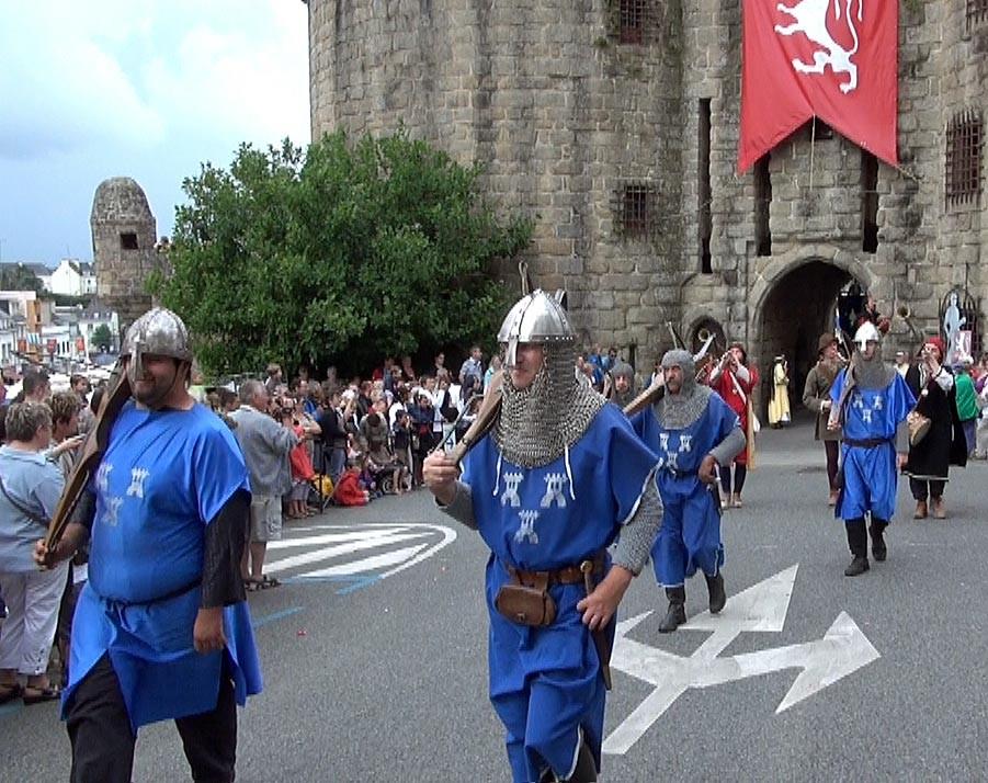 Défilé depuis les tours Broërec'h - Gulférius - 29/07/12