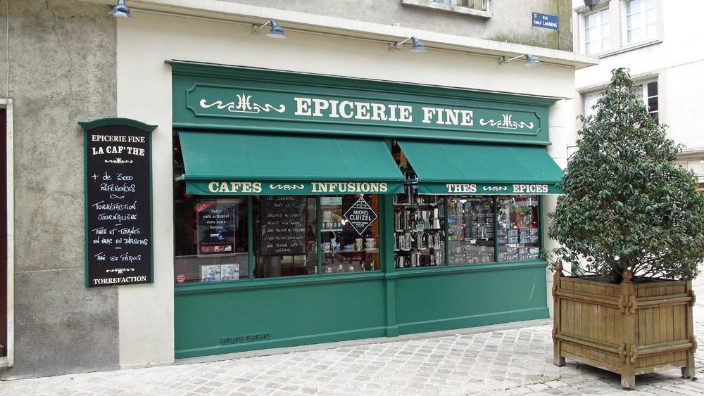 La façade (rue Emile Laurens)