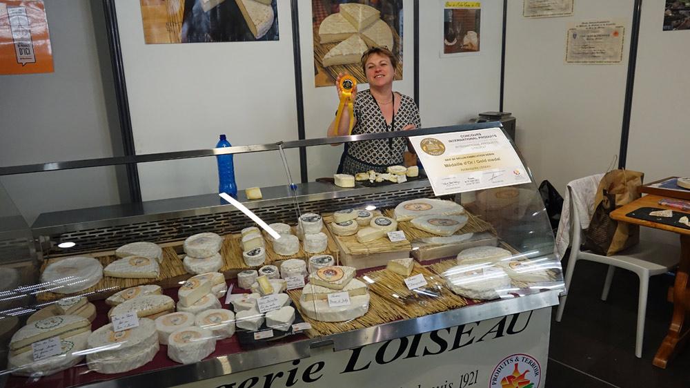 Sophie Loiseau, fromager/affineur à Achères-la-Forêt