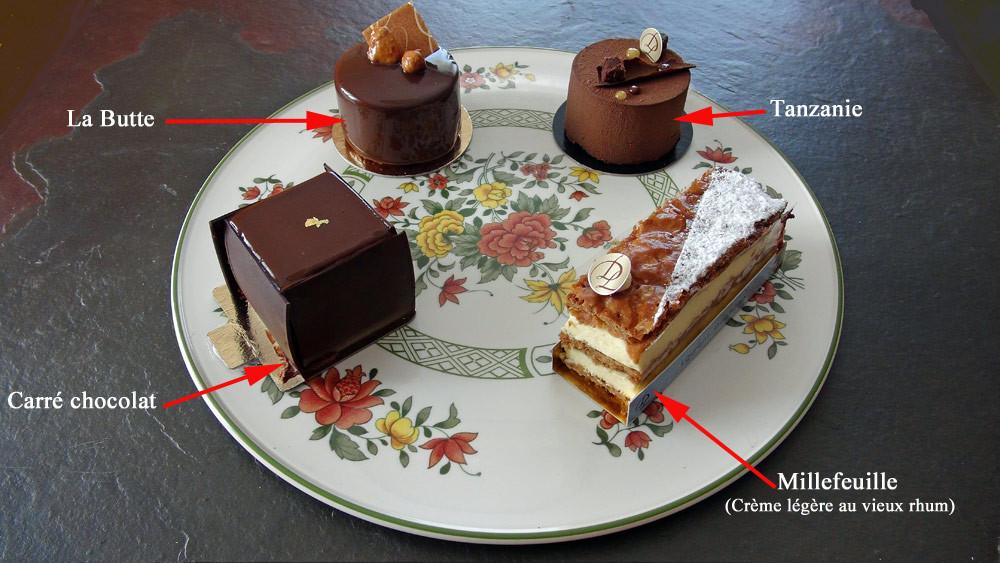 Les gâteaux choisis