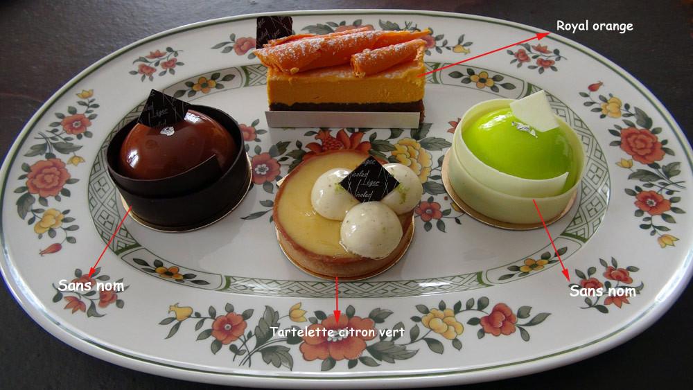 Gâteaux choisis le 9 octobre 2014, dont deux sont sans nom, pour l'instant