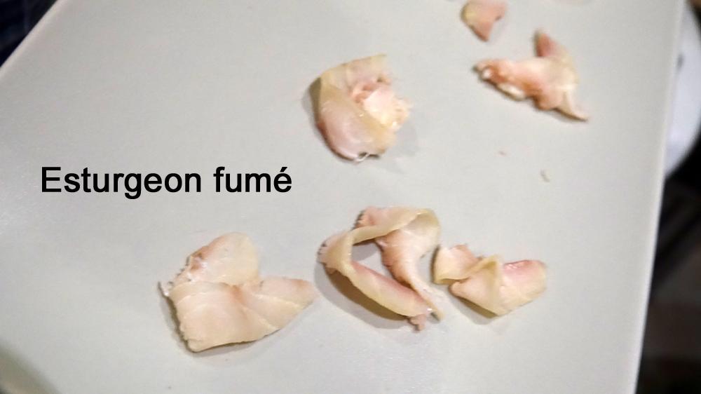 Esturgeon fumé