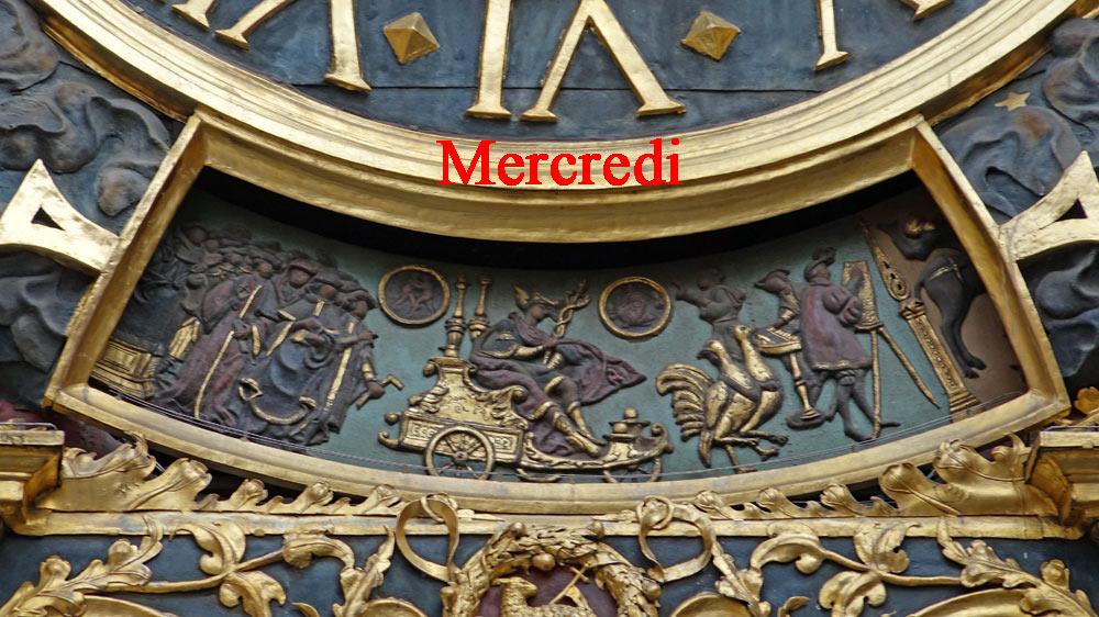 Le décor du MERCREDI