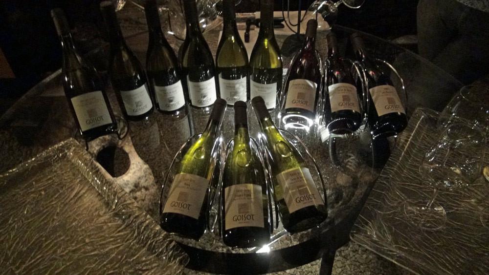 La gamme des vins