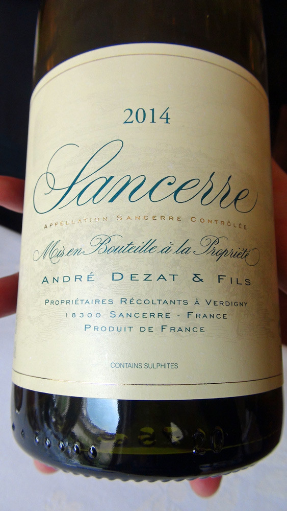 Sancerre rouge 2014