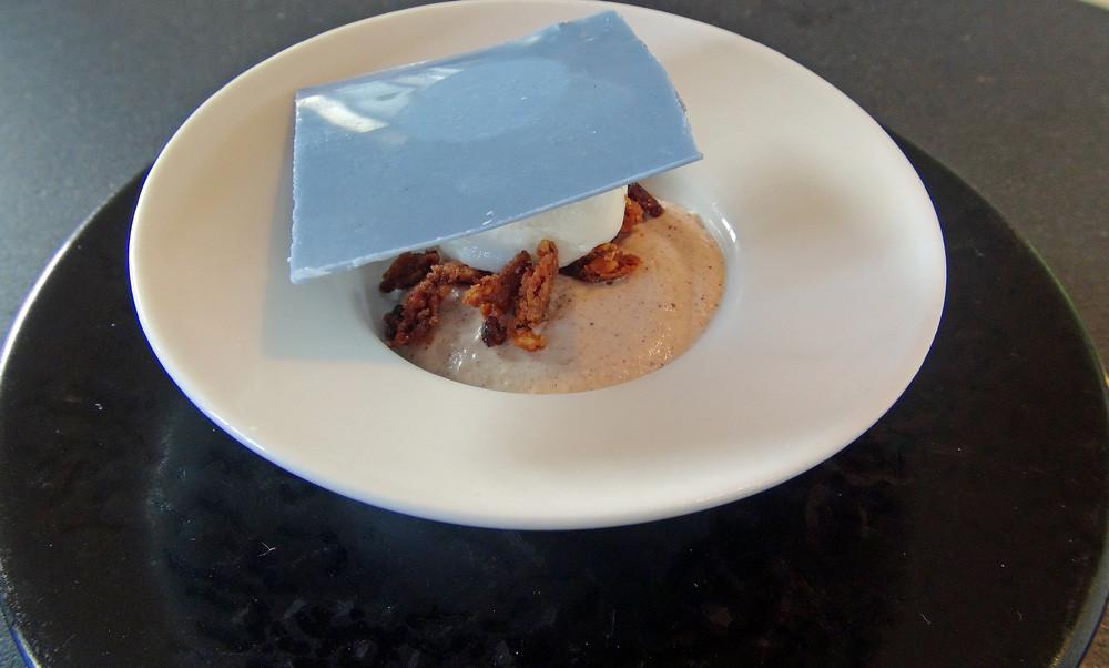 Avant-dessert basé sur le Quernon d'ardoise®