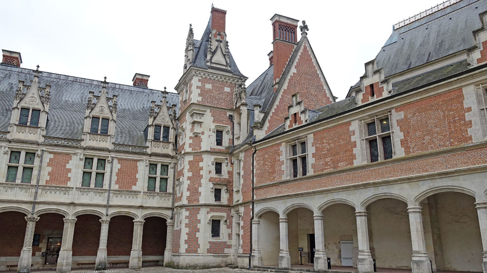 L'aile Louis XII - Gothique flamboyant