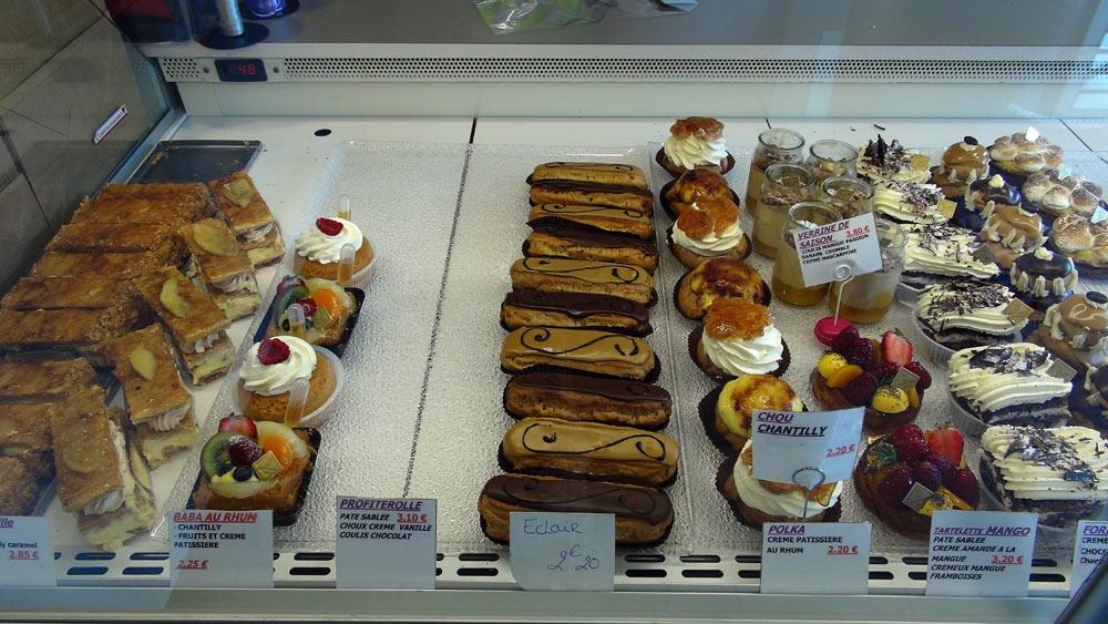 Gâteaux individuels du Baccara