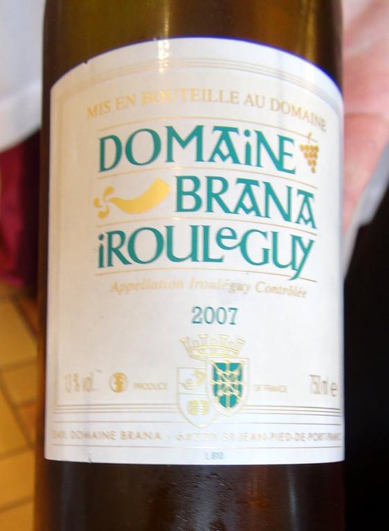 Irouléguy Brana