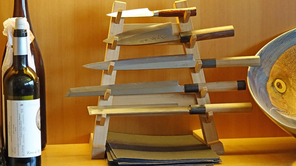 Couteaux japonais du chef