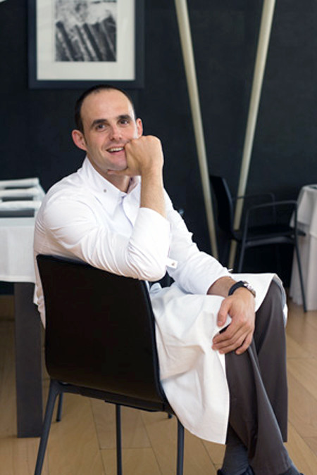 Le chef (photo issue du site du restaurant)