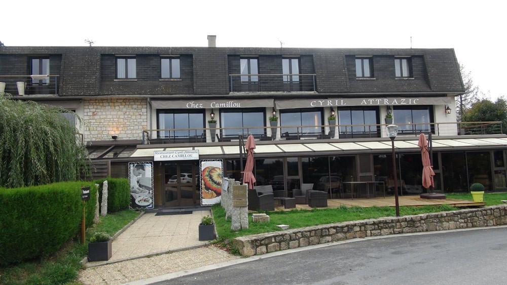 Les deux restaurants (Cyril Attrazic et Le Gabale)