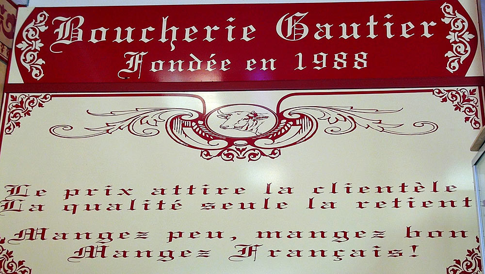 Philippe Gautier annonce clairement sa philosophie !