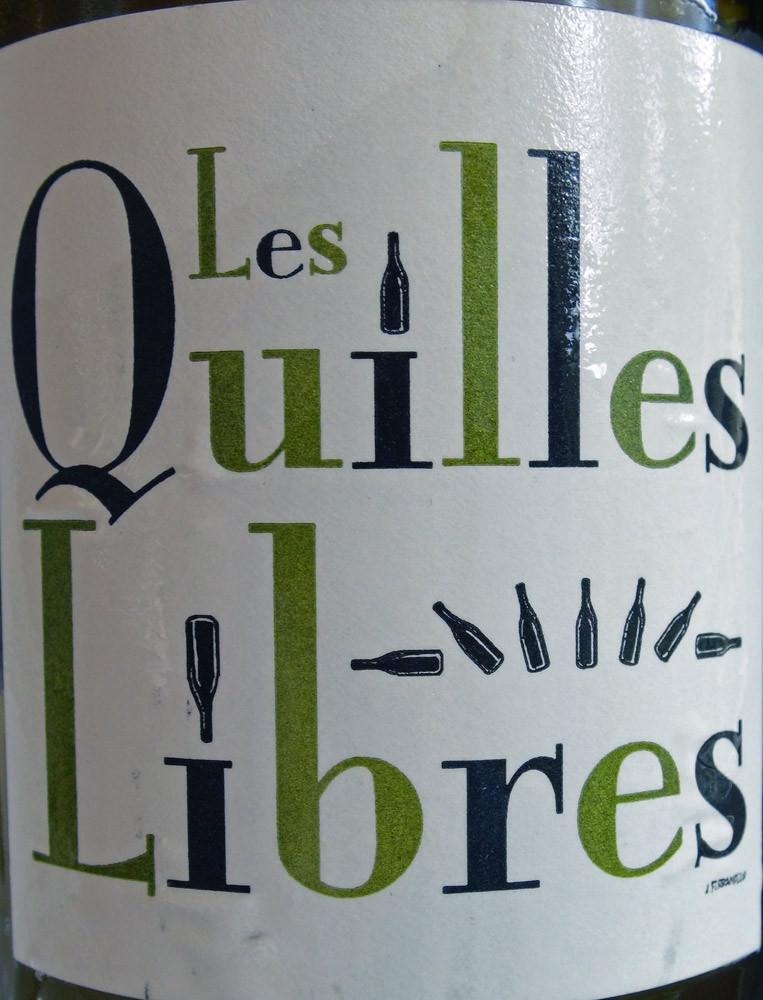 """VDP des Côtes Catalanes 2009 """"Les quilles libres"""" (Grenaches gris & blanc)"""