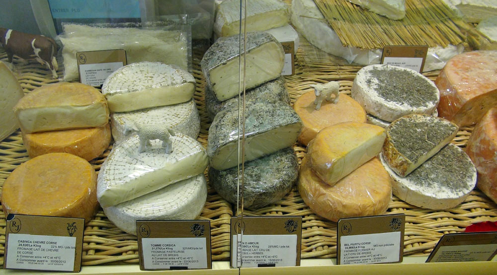 Quelques fromages Corse