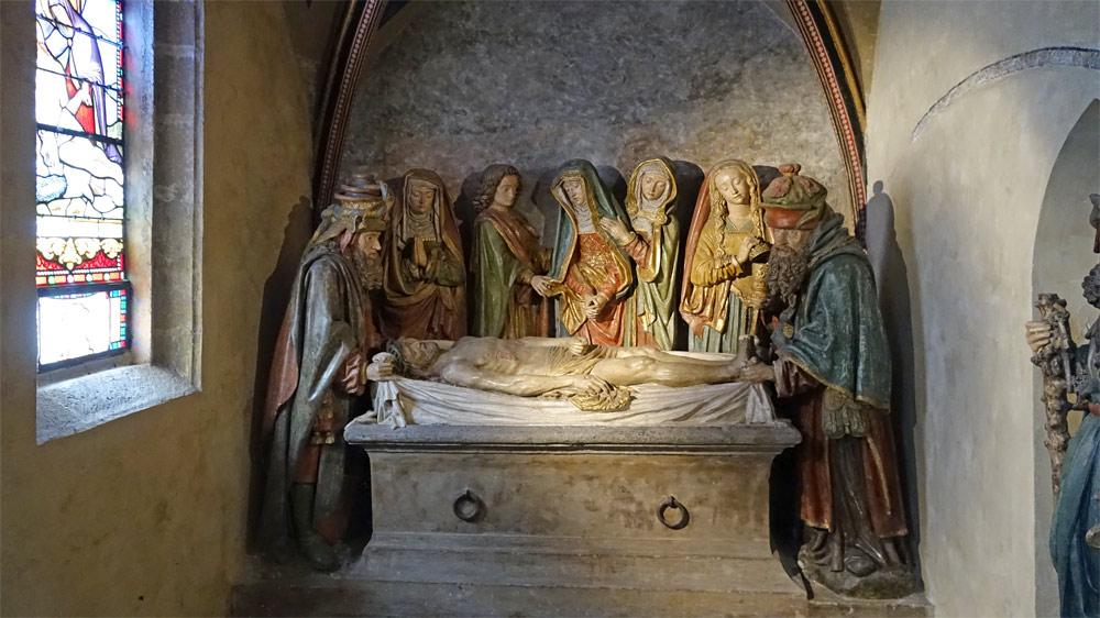 Eglise Saint-Mathieu - Mise au tombeau