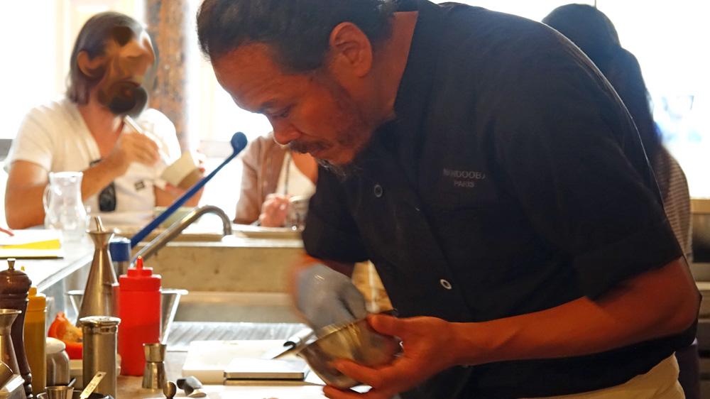 Préparation du tartare de thon