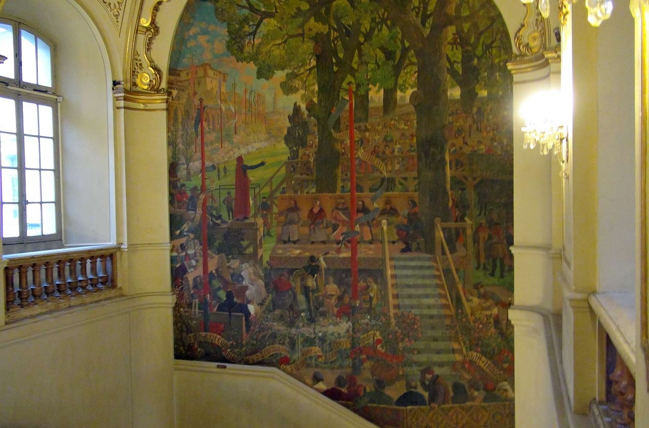 Mairie de Toulouse : le grand escalier
