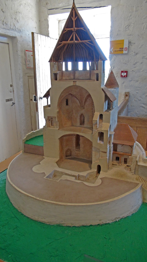 Maquette de la Tour César