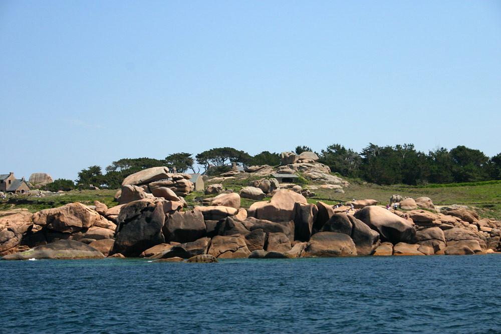 La côte de granit rose du côté de Ploumanach