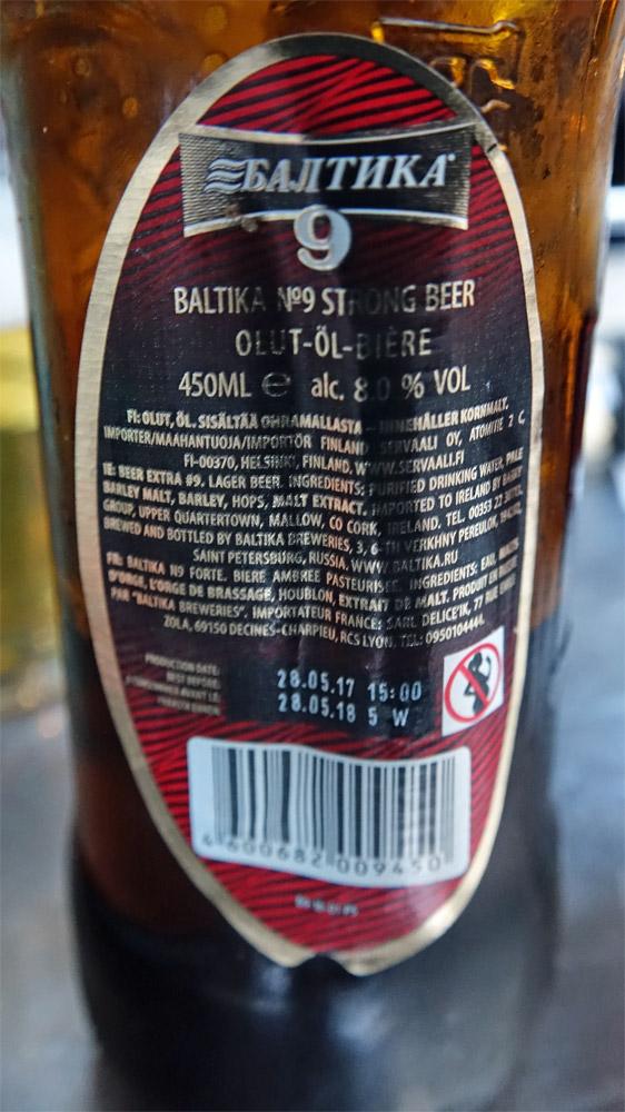 L'envers de la bouteille
