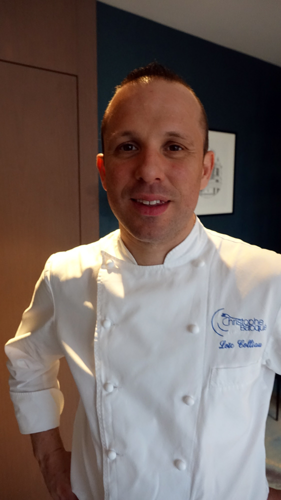 Loïc Colliau, chef pâtissier du Christophe Bacquié, 2 étoiles Michelin