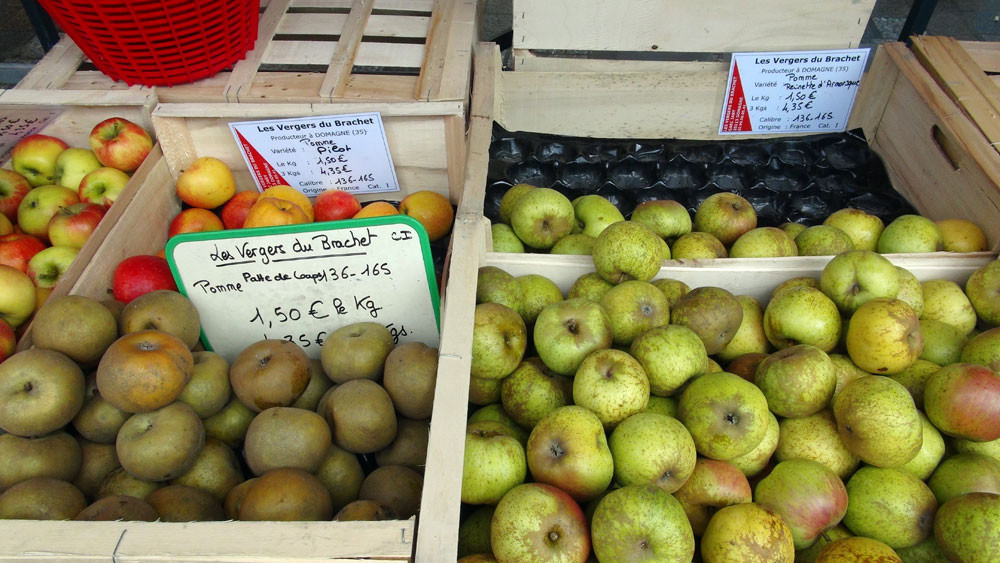 Pommes des Vergersdu Bouchet
