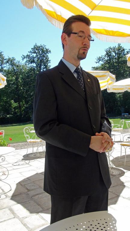 Eric Hertz, le nouveau directeur