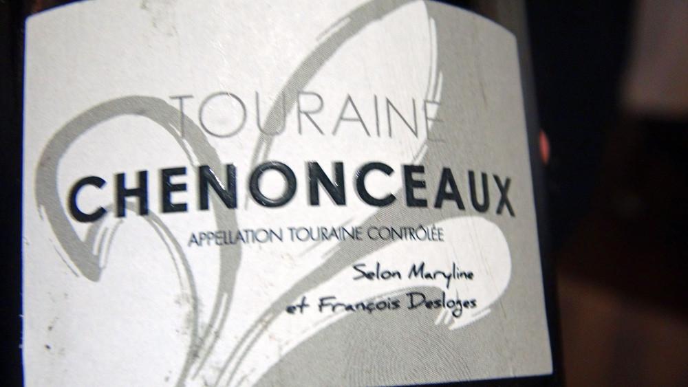 Touraine Chenonceaux 2013 (Contre étiquette)
